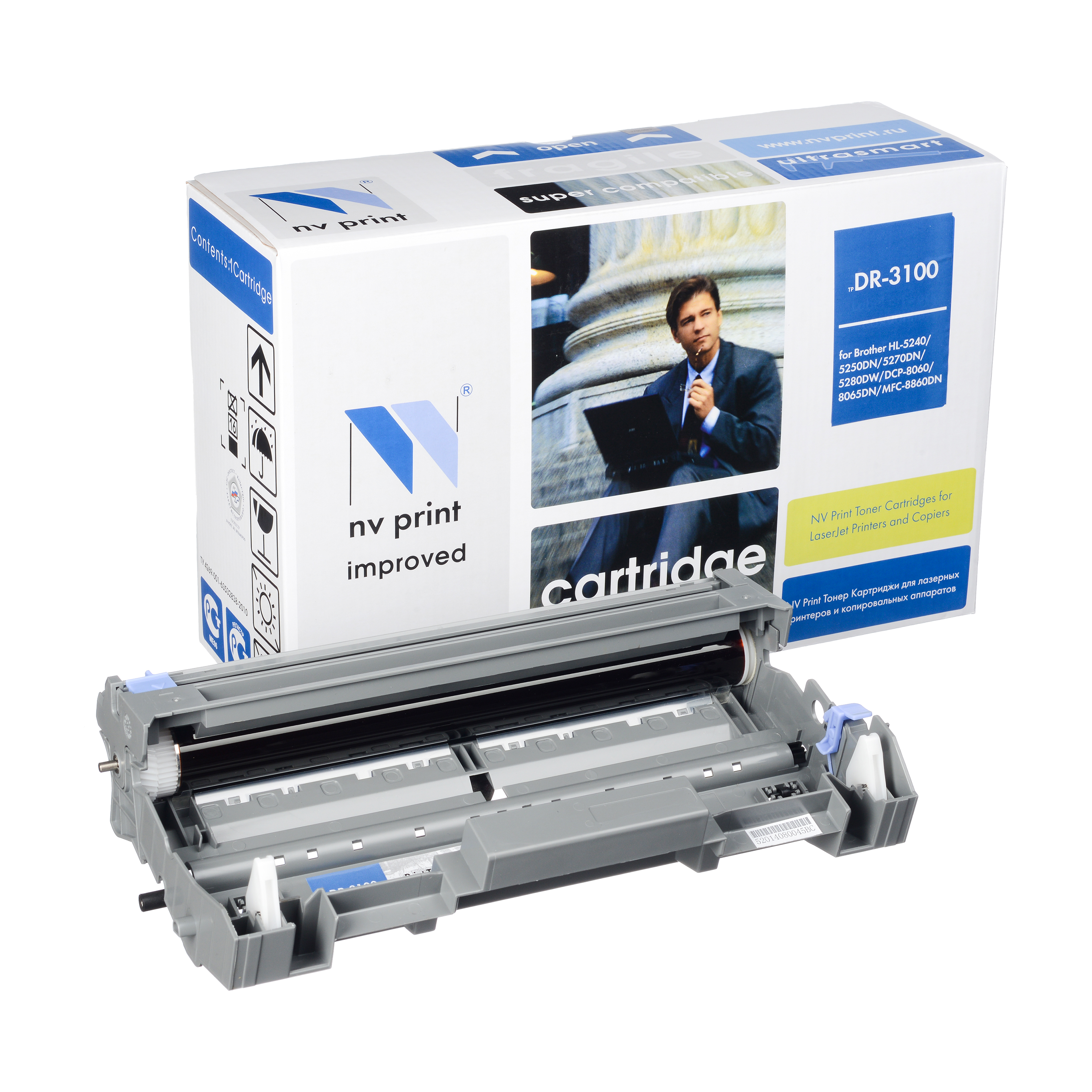 Барабан NV Print Brother DR-3100Барабан NV Print для Brother HL5240/5250DN/5270DN, MFC8460N/8860DN, DCP8065DNБарабан NV Print для Brother HL5240/5250DN/5270DN, MFC8460N/8860DN, DCP8065DN