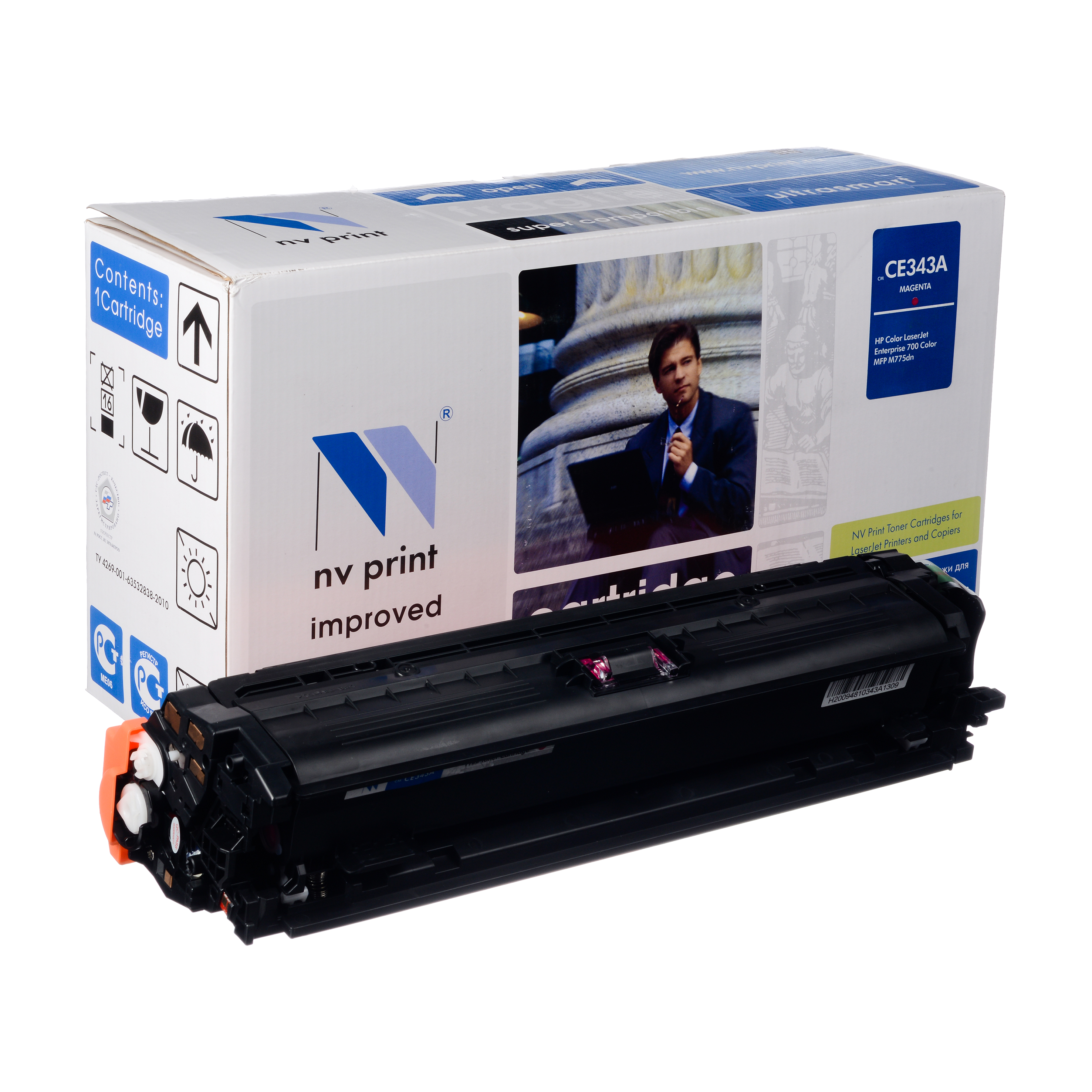 Картридж NV Print CE343A magentaКартридж NV Print для HP CLJ Color  MFP M775Картридж NV Print для HP CLJ Color  MFP M775